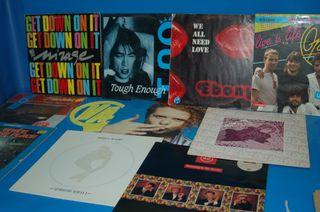 Discos LPs vinilos - 10 vinilos años 80 variados