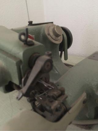 Maquina de coser puntadas invisible