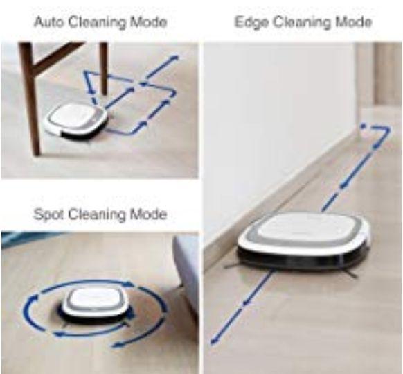Robot Aspirador Wifi(Aspira y Friega)