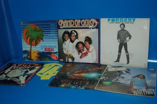Lote 6 Discos LPs vinilos -musica Black soul Funky