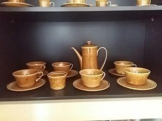 juego cafe y te ceramica antigua