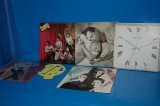 Lote 5 Discos LPs vinilos-made in spain-años 80/90