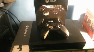 Xbox one X + Elite controller