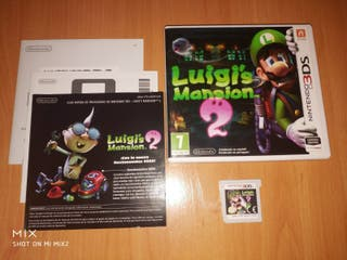 Luigi's mansion 2 nintendo 3ds impecable
