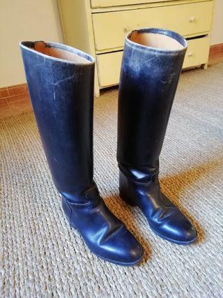 Botas de equitación de cuero clásicas N 39