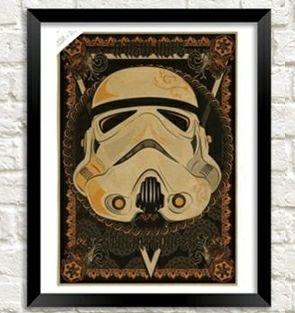 Lámina STAR WARS de Stormtrooper