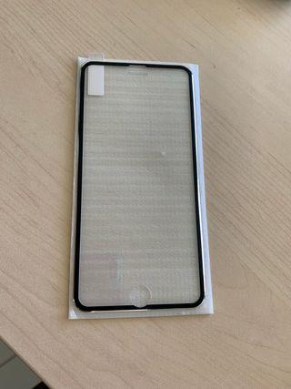 Cristal protector iphone 8 plus a estrenar
