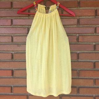 Camiseta amarilla L