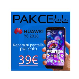 Huawei Y6 2018 (Reparación de pantalla)