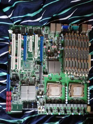 Servidor LGA 771 x2 Intel Xeon E4410
