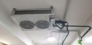 Evaporadores cámara frigorifica