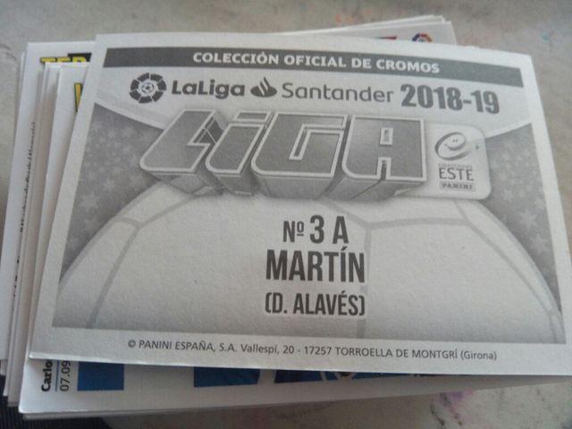 Cromos Liga Este 2018/19
