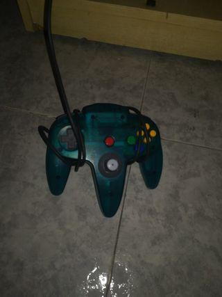 consola Nintendo 64,mas dos juegos, mando, memory