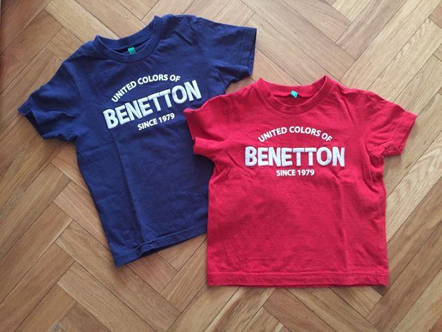 d6bf47529 Pack Dos Camisetas Benetton de segunda mano por 7 € en Torrelodones ...