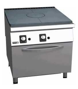 Cocina a gas todo plancha y horno (fondo 900)