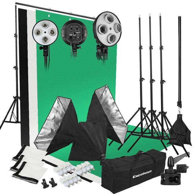 Kit de Iluminacion Profesional para Fotografia