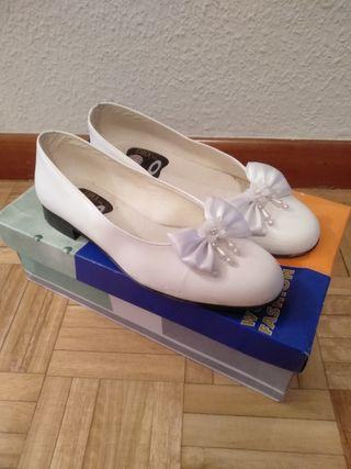 Zapatos niña comunión número 34