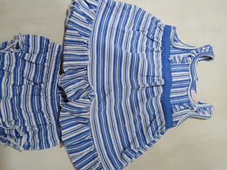 Vestido GOCCO 6-9 meses