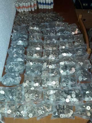 monedas de Pesetas.