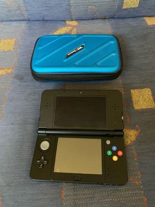 NEW NINTENDO 3DS CON JUEGOS,FUNDA,microSD32gb