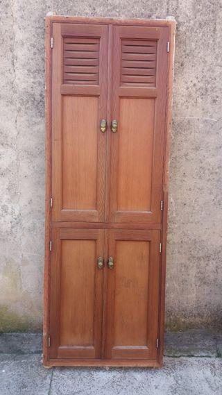 puertas de madera viejas de segunda mano en wallapop