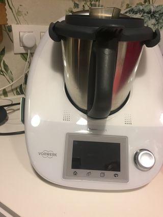 Thermomix TM5 con Cook-Key, opcional Segundo Vaso