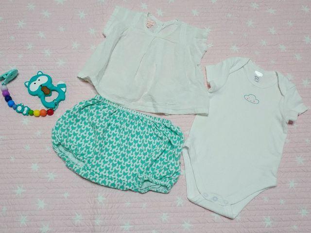 86e6517e7 Lote ropa bebé 3-6 meses de segunda mano por 9 € en Vigo en WALLAPOP