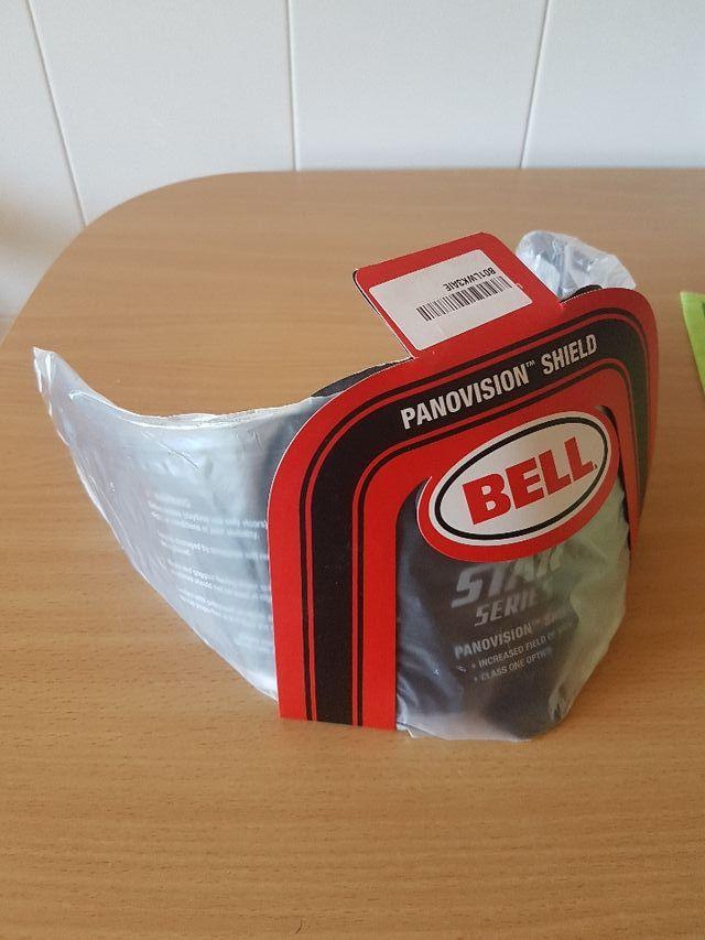 a5dc1488dfd2f Pantalla negra para casco Bell de segunda mano por 65 € en A Coruña ...