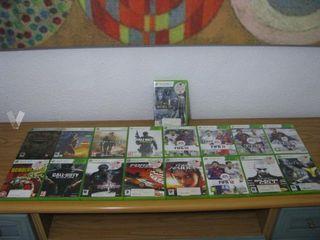 Pack 17 juegos de Xbox 360