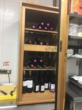 Nevera para vinos