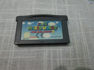 super mario world 2 gba, nds