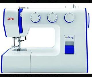 Máquina de coser alfa next 45