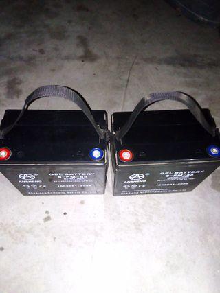 baterias para scooter electricos