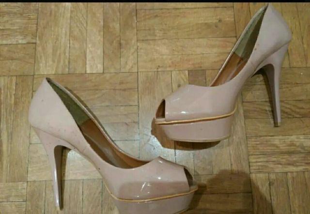 Oferta zapatos tacón rosa boda