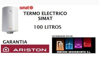 Calentador eléctrico Simat 100 lts. V