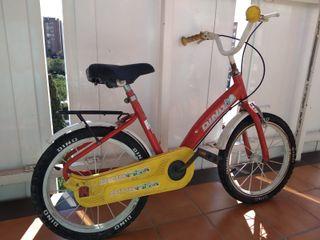 Bicicleta infantil marca Dino