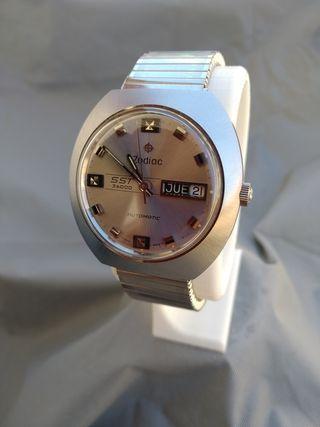 Reloj Zodiac Automático Hi Beat Vintage