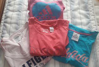 Lote 4 camisetas ORIGINALES