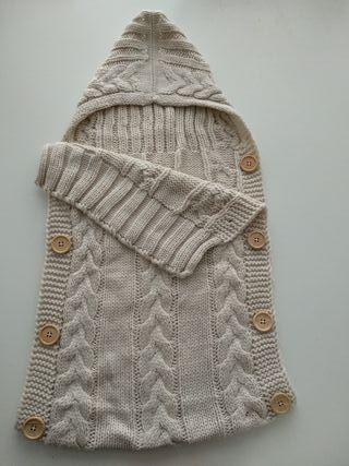 Arruyo, saco de lana bebe
