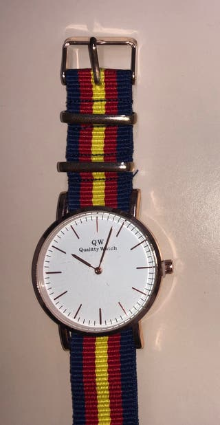 Reloj con la Bandera de España