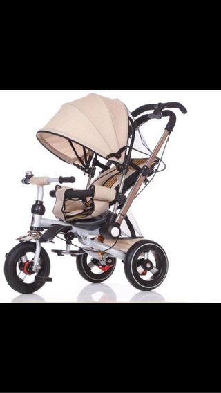 Triciclo silla de paseo JUGUEA color BEIG