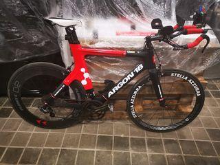 bicicleta triatlon