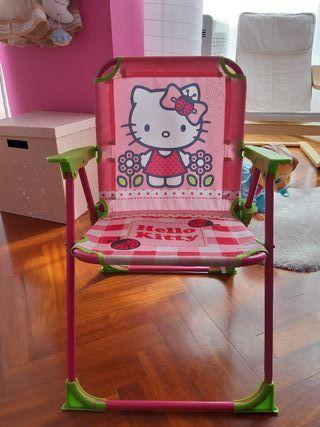 Silla De 10 En Hello Kitty Por A Mano € Coruña Segunda Plegable PkTlOXZuwi
