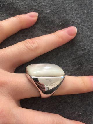 Anillo Luxenter plata con madreperla con regalo