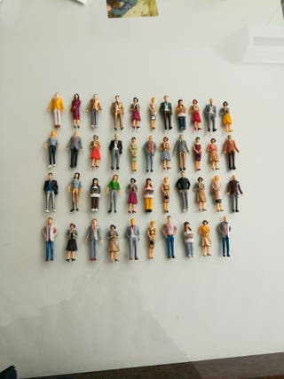 scalextric figuras
