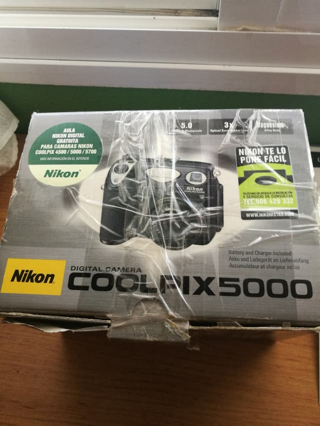 camara nikon coolpix 5000 entrega en mano
