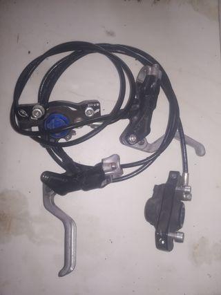 frenos hidráulicos de bicicleta formula