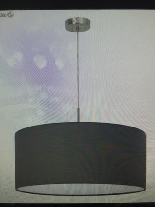 Lámpara de Techo negra diseño minimalista