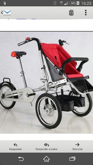 Bicicleta carro Vagabond