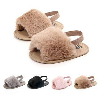 sandalia d pelo para bebe
